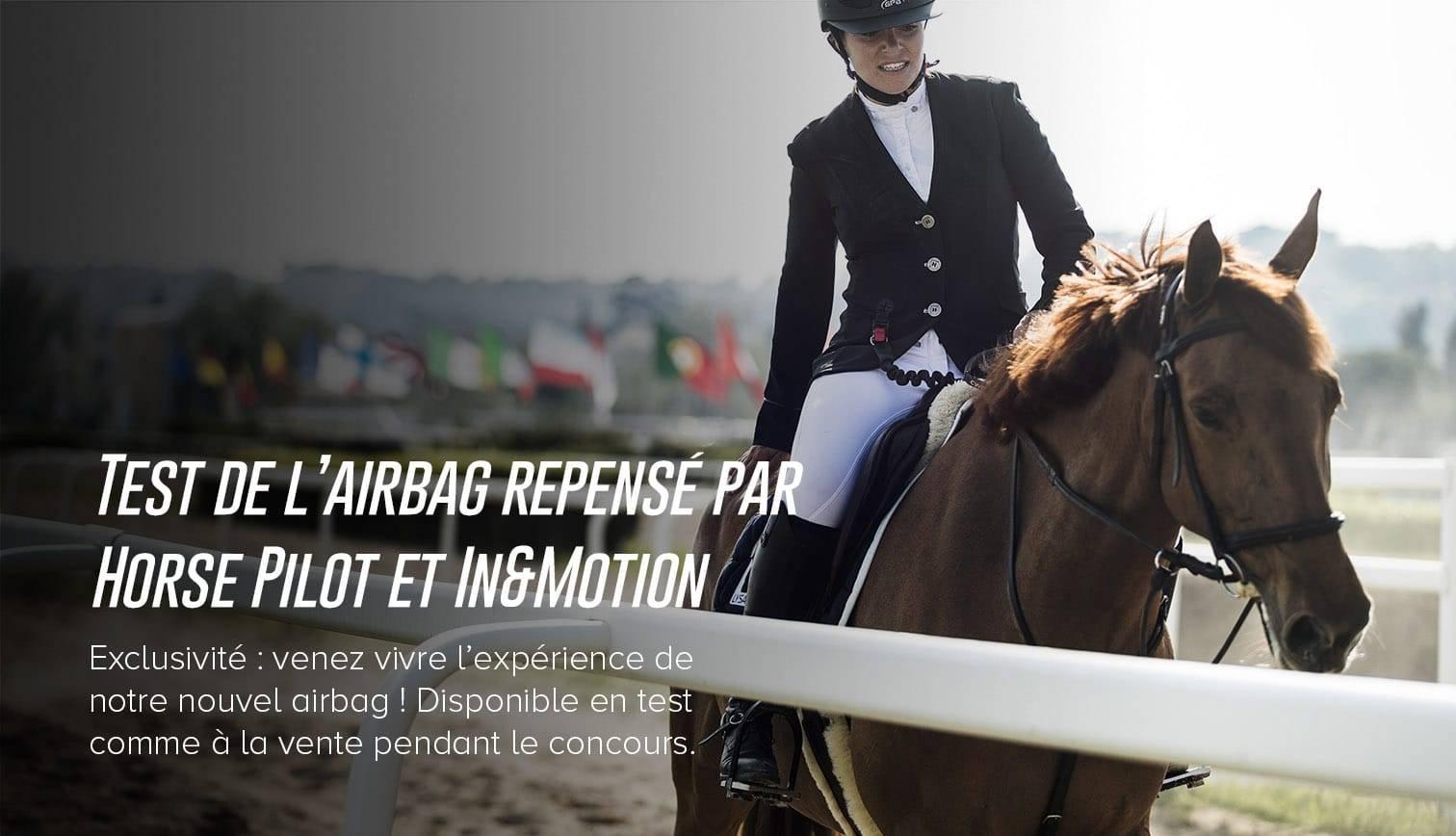 airbag horse pilot