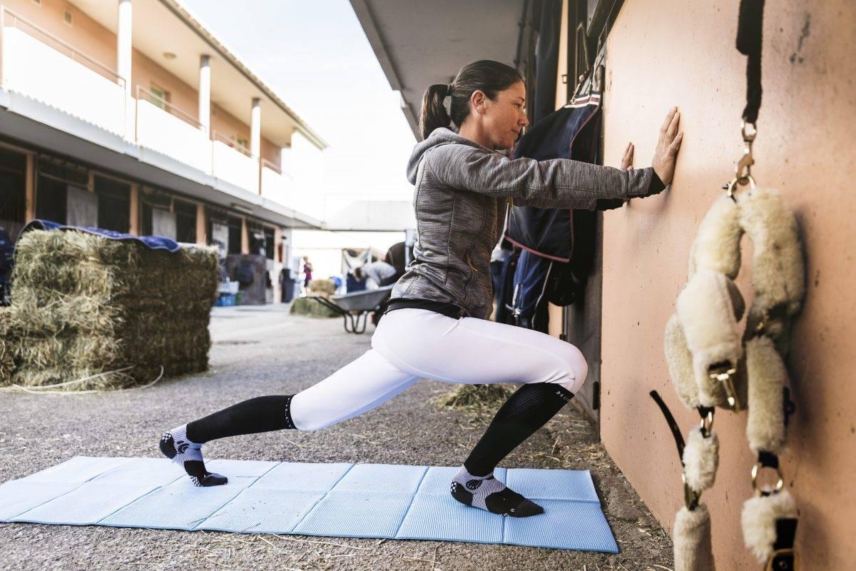 la préparation physique du cavalier