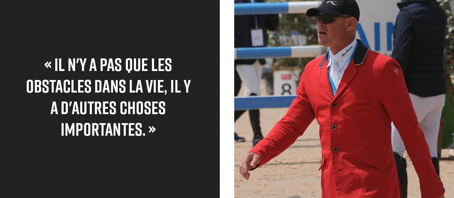 François Mathy Jr champion belge de CSO