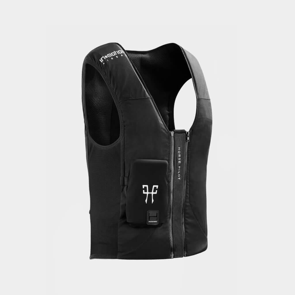 Gilet airbag d'équitation cavalier