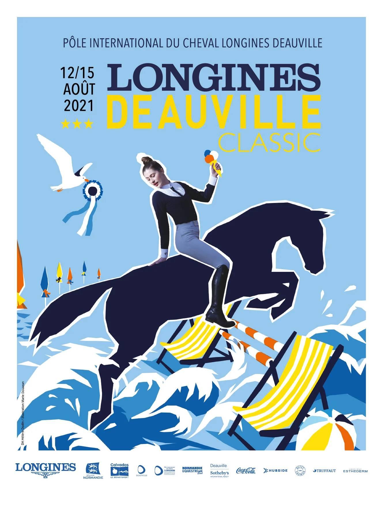 Affiche officielle - Longines Deauville Classic 2021